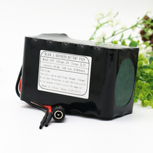 KLUOSI  24V/25.2V10.5Ah 6S3P Use NCR18650GA Li-Ion Battery Pack with 20A BMS for Small Electric Motor Bicycle Ebike Scooter