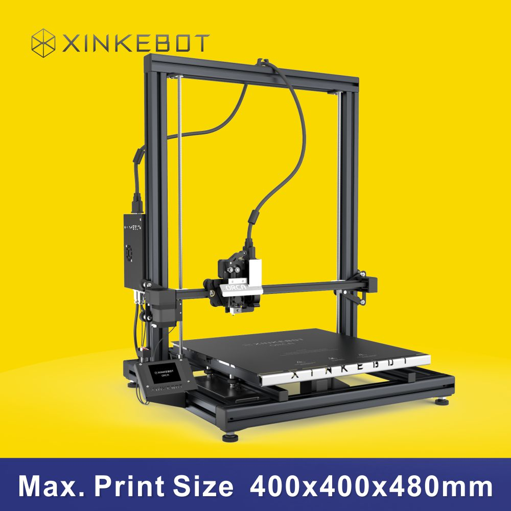 i3-based 3D Printer XINKEBOT ORCA2 Cygnus with Delicate Design Heated Print Bed