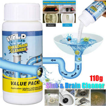 Wild Tornado Powerful Sink & Drain Cleaner High Efficiency - Clog Remover