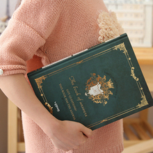 Journaux rétro, couverture de carte destampage à chaud, B5 Size 184x257mm, 100g, papier à Dowling, Page intérieure vierge