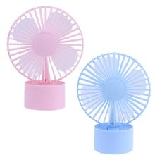 New Portable Rechargeable Mini USB Desktop Fan Computer Vehicle Sunflower Mini USB Fan USB Gadgets High Quality
