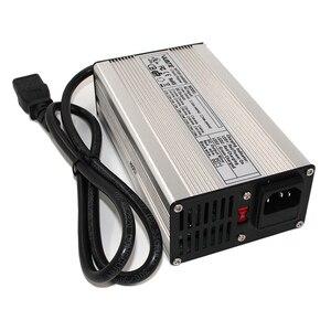 Image 4 - Chargeur intelligent de batterie de Li ion du chargeur 72 V 3A de 84 V utilisé pour la batterie de Li ion de 20 S 72 V haute puissance avec le boîtier en aluminium de ventilateur
