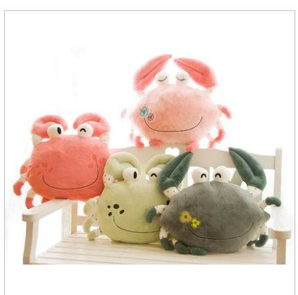 Free shipping  stuffed animals big size crab 50CM Wholesale Children's Cartoon big Plush Toy kids toys fancytrader new style giant plush stuffed kids toys lovely rubber duck 39 100cm yellow rubber duck free shipping ft90122
