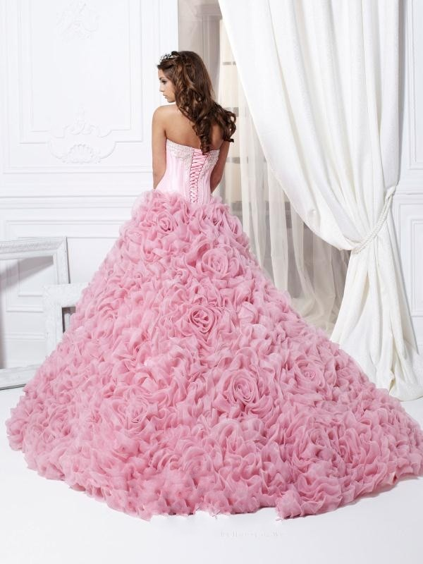 Pink-Quinceanera-Dress-2015-New-Elegant-Mordern-Sweetheart-Sequined-Beading-Hand-Made-Flowers-Sweet-16-Dresses (1)