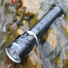 YUPARD Waterproof Underwater diving diver 3*XM-L2 LED Flashlight Torch  Lamp Ligh super T6 30m outdoor sport camp fishing