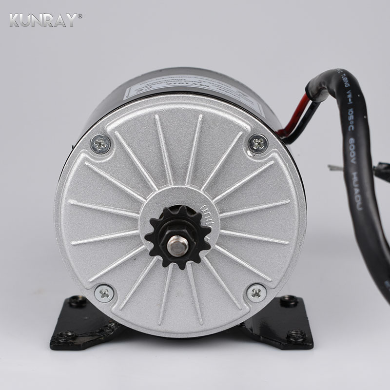 High Speed Electric Scooter Brush Motor 350W 24V DC Motor For Electric Skateboard Electric Motor For Bicycle Ebike Kit MY1016 12 front wheel electric scooter kit electric scooter spare parts electric skateboard conversion kit