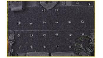 ɫ�品質タクティカルベスト黒メンズミリタリーハンティングベストフィールドバトルエアガンモールチョッキ戦闘アサルトプレートキャリア
