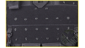 Image 5 - Hoge Kwaliteit Tactische Vest Zwart Mens Militaire Jacht Vest Veld Battle Airsoft Molle Vest Combat Assault Plate Carrier