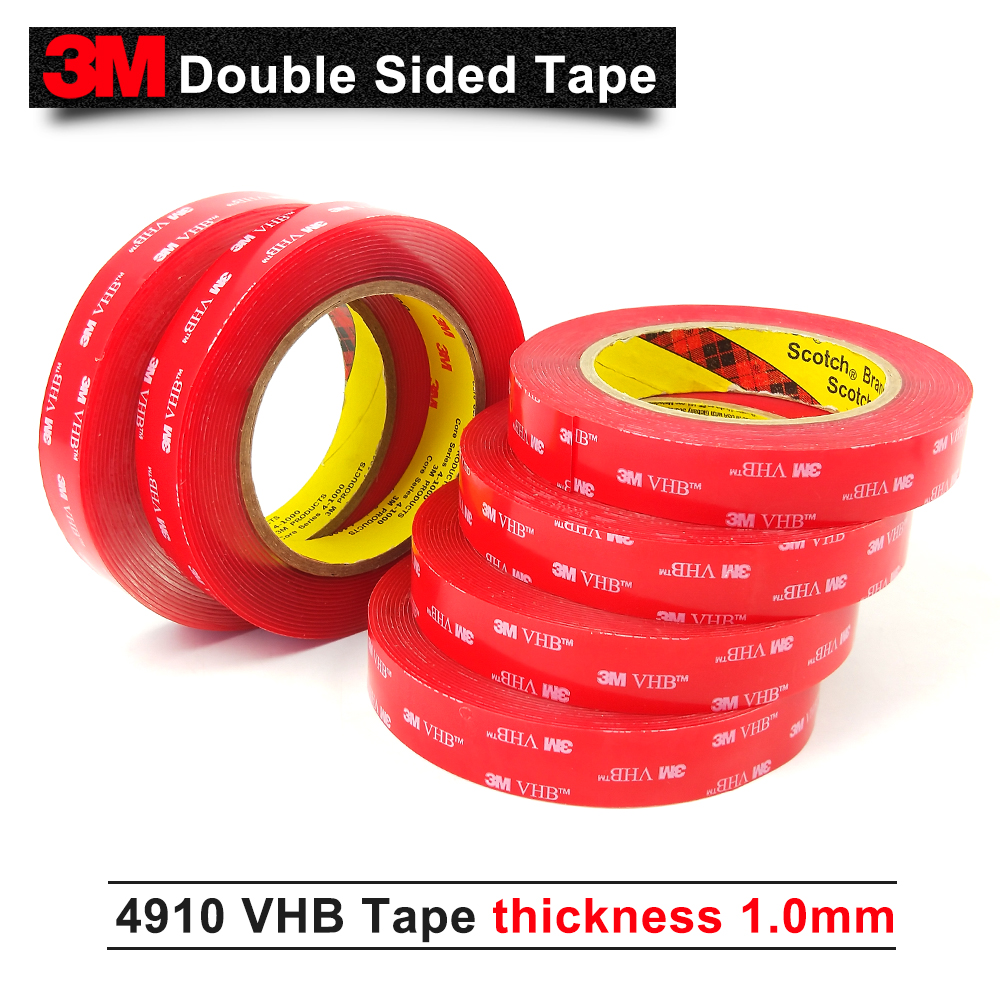 """3//4/"""", 1/"""", 1 1//2/"""", 2/"""" AMERICAN MADE x 60yd 1 Case-HD Filament Tape-Your Choice"""