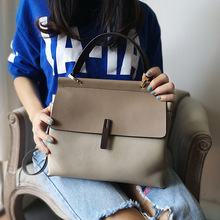 купить 2019 NEW Genuine Leather Bag Ladies Handbag Women Shoulder Bag Women Messenger Bag Female Crossbody Bag дешево