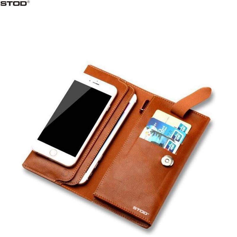 STOD 전화 가방 지갑 케이스 PU 절묘한 공예 보호 - 휴대폰 액세서리 및 부품