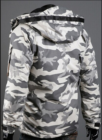 Comaba Men Hooded Oversize Juniors Windproof Mid Long Down Jacket