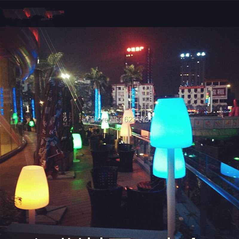 LED Glowing Floor landscape lighting 5