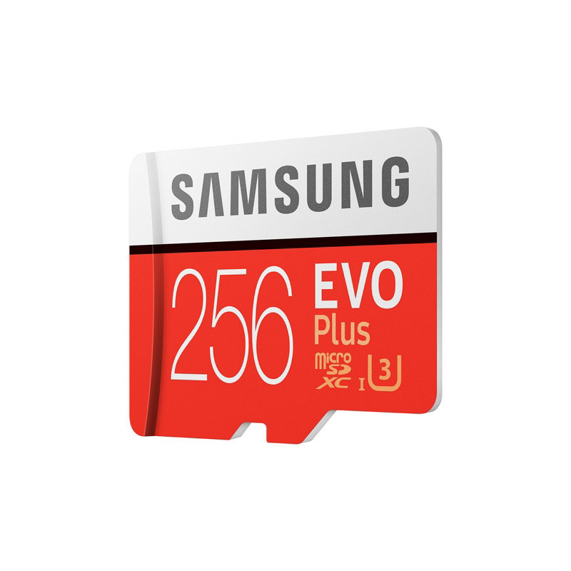 SAMSUNG EVO Plus Micro SD Memory Card 256GB 95MB/s Class10 U3 UHS-I TF Card 4K HD for Mobile phone Smartphone Tablet etc