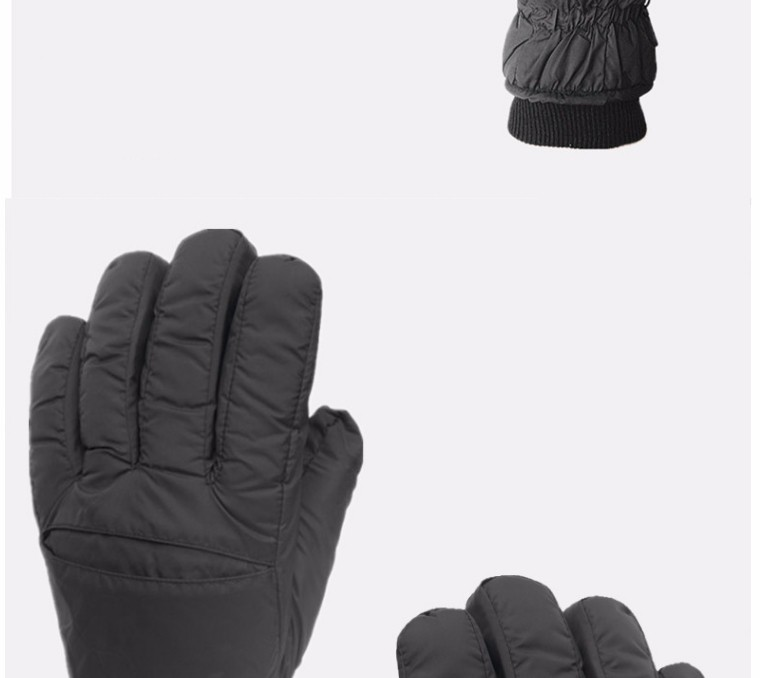 2017 Top Quality New Brand Men's Ski Gloves Snowboard Snowmobile Motorcycle Riding Winter Gloves Windproof Waterproof Snow Glove 2