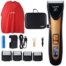 Marca LILI, cortadora de pelo profesional, máquina de carga rápida, cortadora de pelo eléctrica para hombres, maquinilla para cortar el pelo para barbero