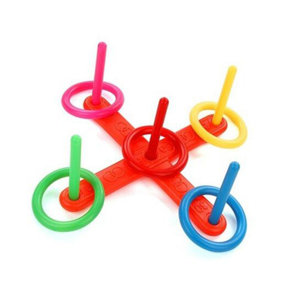 Funny Family Outdoor Game Ring Toy For Children Kid Throw Lawn Toss Quoits Toy Good Garden Play High Quality