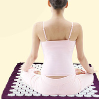 Hot Acupressure Massage Mat For Back Foot Massage Pain Relief Health Care Massager Cushion Relieve Stress