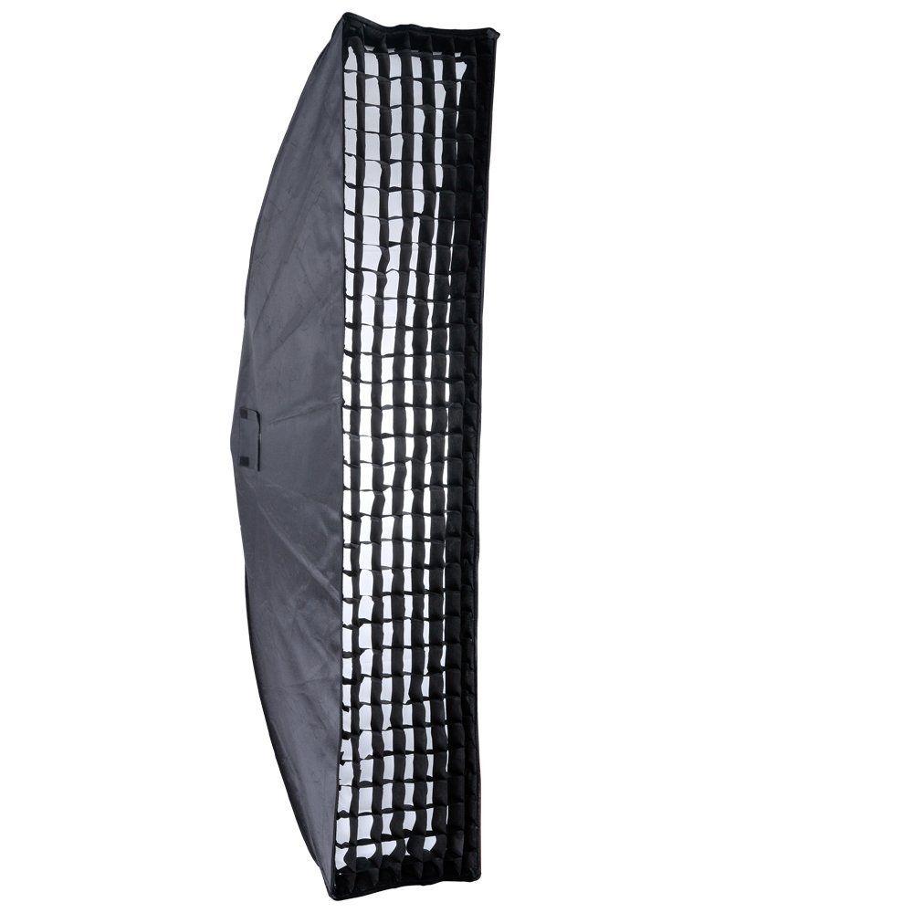 Professional Godox 35x160cm Honeycomb Grid Softbox Bowens Mount for Studio Strobe godox 35x160cm photo strobe studio flash softbox for bowens mount godox de qt dp de sk sp gs studio flash