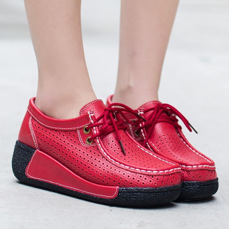 Cresfimix Chaussures Lady Femme À A Cuir Plat L'extérieur b d Femmes A2134 c Dérapage Anti Blanc Plaform Véritable Confortables Casual Loisirs rcPFwrqAgY