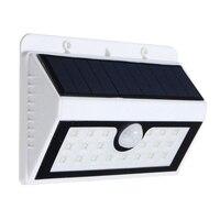 Jiguoor Wireless Solar Powered 20 Solar LED Lampion PIR Sensor de movimiento Solar iluminación al aire libre cerca jardín pared impermeable Luz