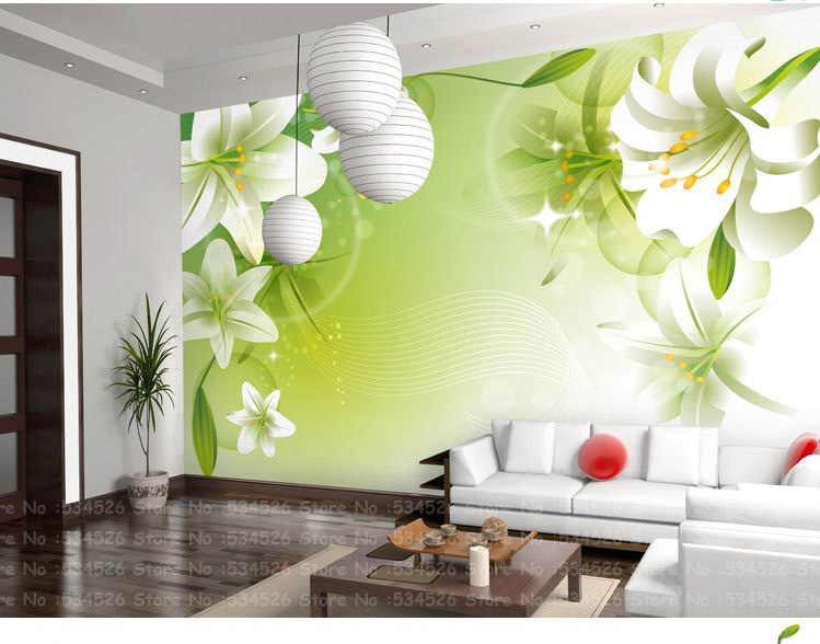 Large environmental mural wall paper modern child - Papel decorativo de pared ...
