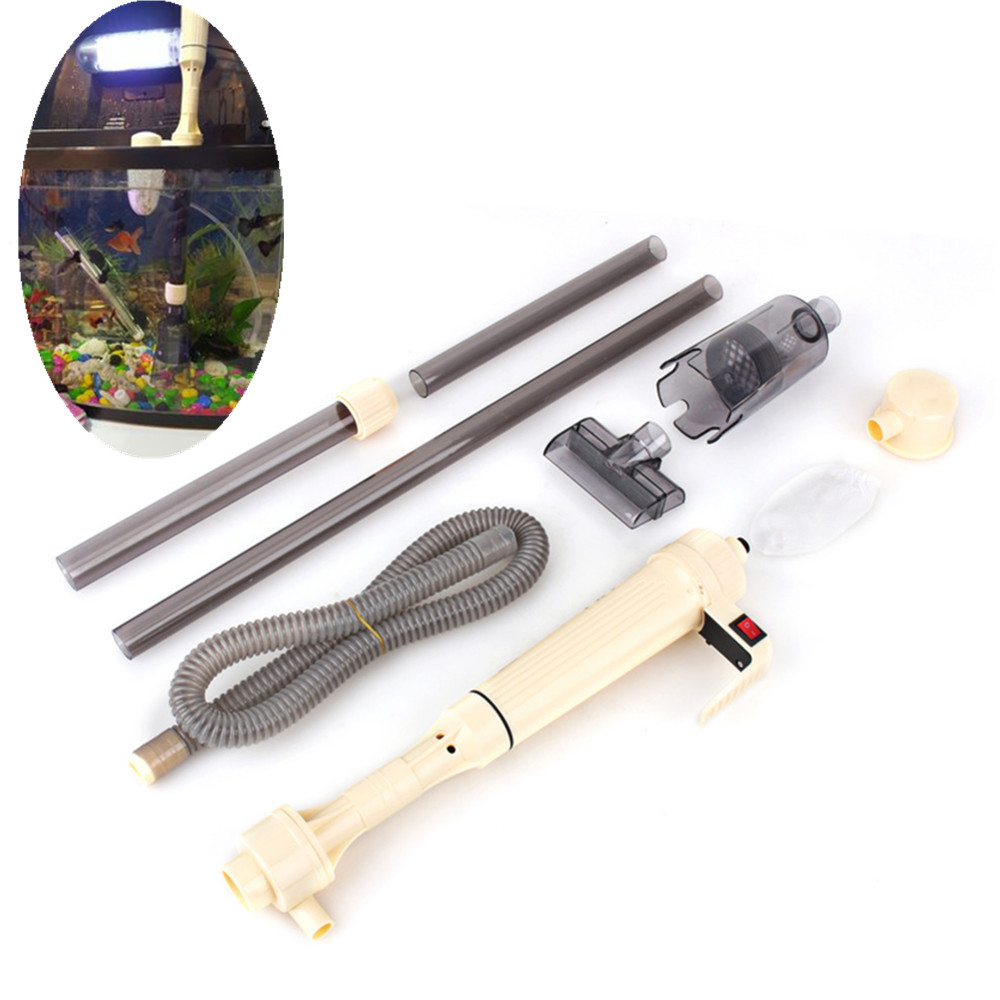 Aquarium Battery Syphon Operated Fish Tank Vacuum Gravel