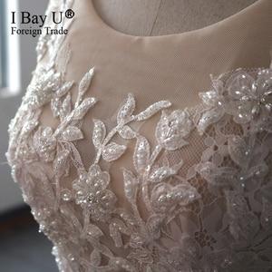 Image 4 - Luxury Long Sleeve Arabic Ballgown Wedding Dress