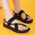 Women's sandals 2017 Summer Women Outdoor Beach Sandals flat unisex summer shoes high quality Back sandalias mujer size 42 43 44