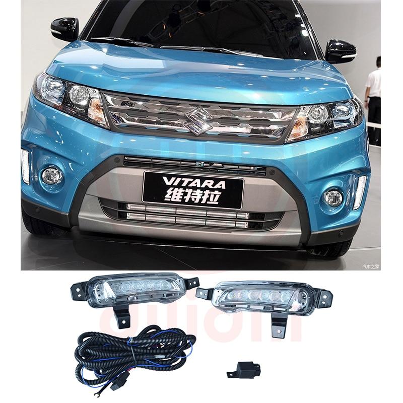 OEM VALEO Dritë drejtimi gjatë ditës DRL Kit për SUZUKI Vitara - Dritat e makinave