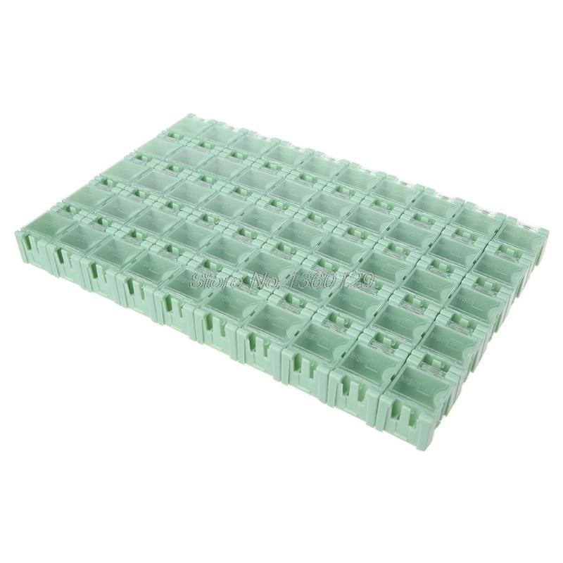 Werkzeuge Werkzeug Organisatoren 50 Teile/satz Smd Smt Elektronische Komponente Container Mini Storage Boxen Kit