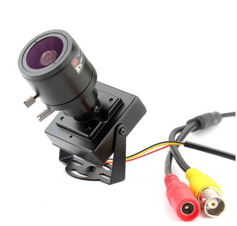 Kim Loại Mini AHD Zoom 2.8 Mm-12 Mm Hướng Dẫn Sử Dụng Tập Trung Djustable Ống Kính 720 P 960 P 1080 P 20MP Giám Sát An Ninh Micro Video