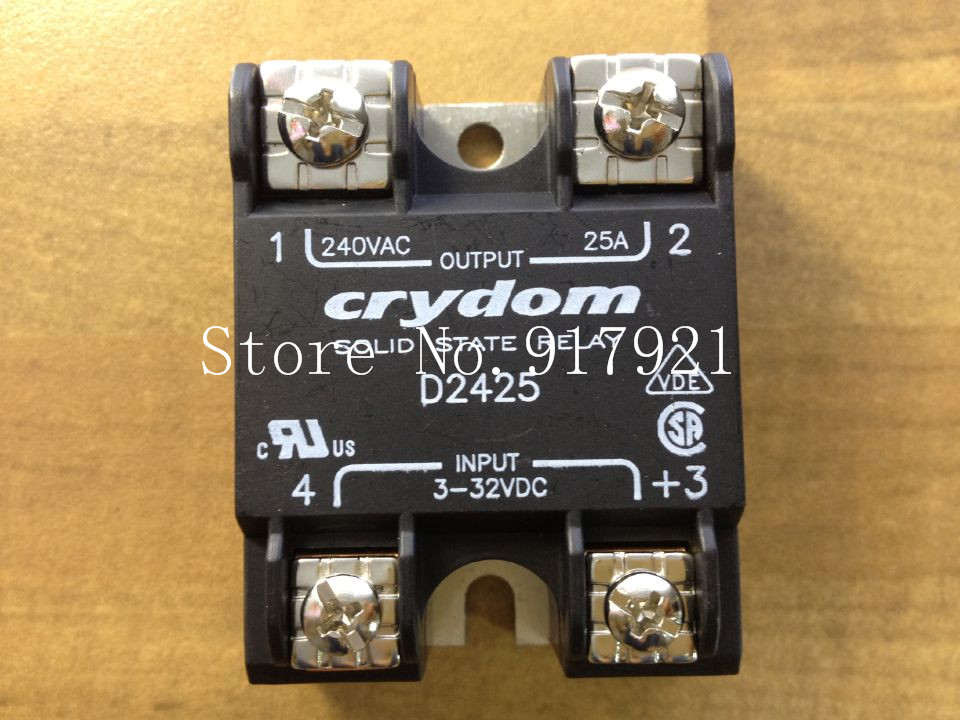 [ZOB] The original American Crydom up to D2425 import 25A solid state relay 240V 3-32V  --2pcs/lot [sa] the new us special sales genuine original crydom solid state relay spot h12wd4890pg 2pcs lot