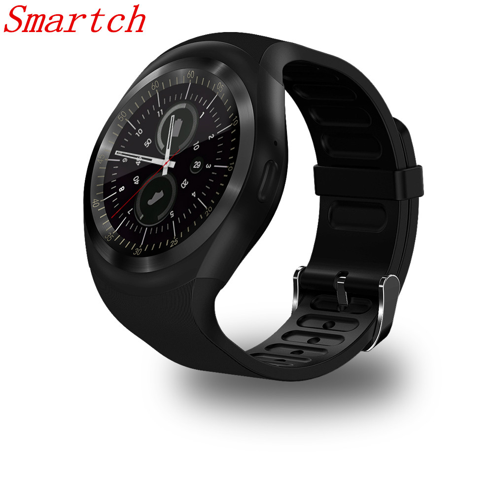 Smartch Y1 Smart Watch 1.54 Touch Screen Fitness Activity Tracker Sleep Monitor Pedometer Calories Track support SIM card solt