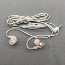 HIFI DIY MMCX Earphone Cable for Shure SE215 SE535 SE846 UE900 Dynamic 10mm Units Customized Sport Headset for iPhone xiaomi