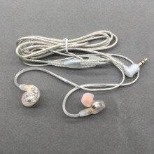 HIFI DIY MMCX Oortelefoon Kabel voor Shure SE215 SE535 SE846 UE900 Dynamische 10mm Eenheden Aangepaste Sport Headset voor iPhone xiaomi