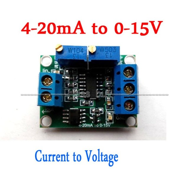 Current To Voltage 4 20ma To 0 15v 0 5v 0 10v Isolation