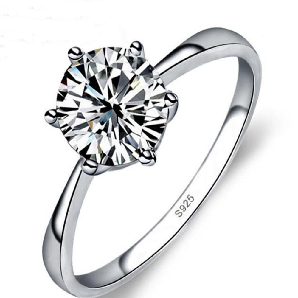 BFQ Romantic Wedding Ring Cubic Zirconia S925