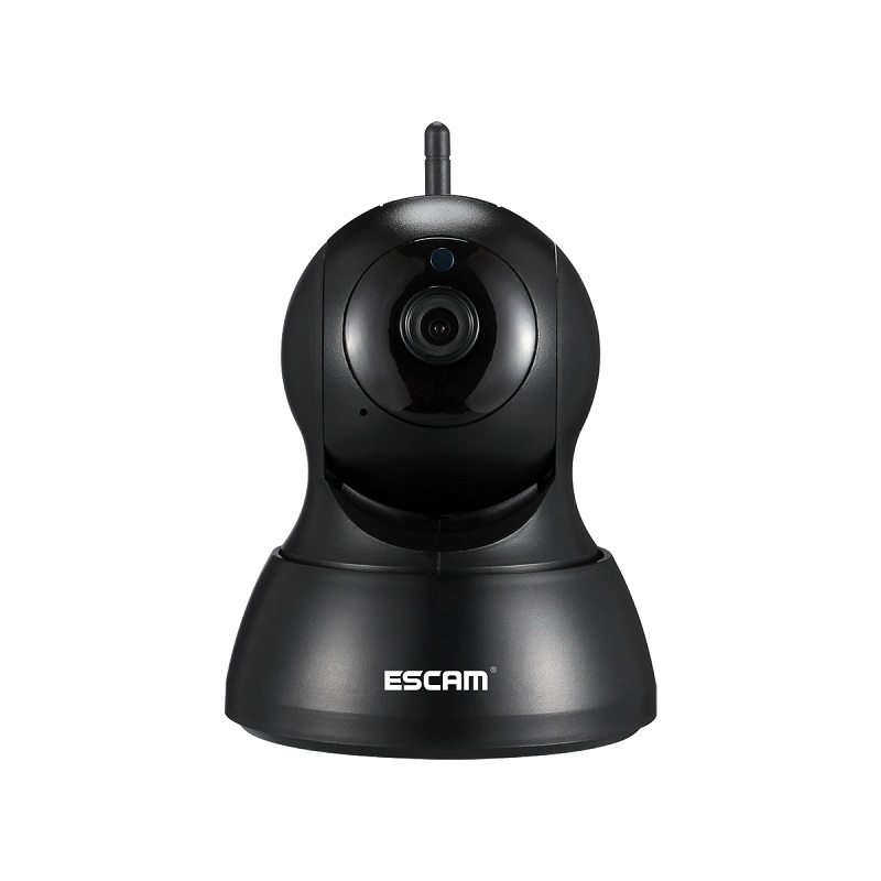 ESCAM QF007 IP camera Night Vision Onvif 720P Pan Tilt Support 64G TF CARD Mini Wifi Ip camera P2p Home Security Cctv Camera escam qf100 p2p ip camera 720p hd wifi wireless baby monitor pan tilt security camera onvif night vision support micro sd card
