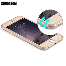 Tempered Glass Screen Protector For iPhone 6 6S Plus Ultra Slim Titanium Alloy 3D Curved Surface 0.26mm