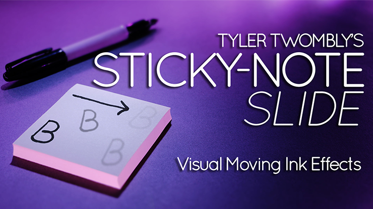 The Sticky-Note Slide By Tyler Twombly,Magic Tricks