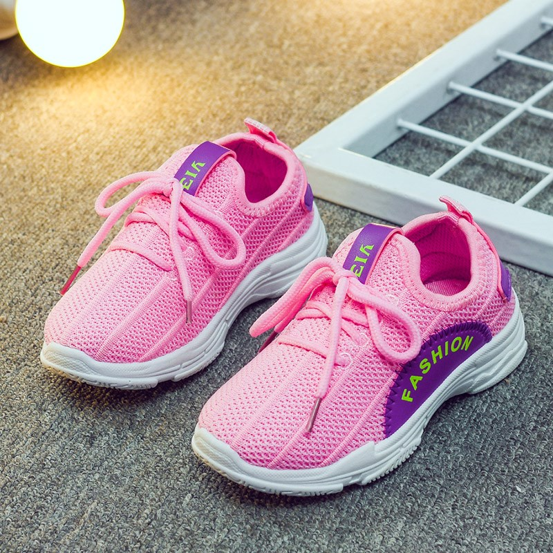 Mudibear 2018 New Spring Children Shoes Kids Shoes For Girls Sneakers Boys Sport Shoe School Running Sneakers Mesh Breathable