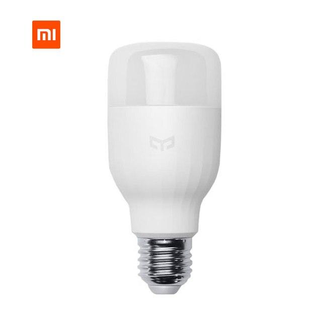 Оригинал Xiaomi БЕЛЫЙ ЦВЕТ Yeelight Смарт СВЕТОДИОДНЫЕ Лампы, wi-fi Пульт Дистанционного Управления Регулируемая Яркость Офтальмолог Свет Смарт-Лампы