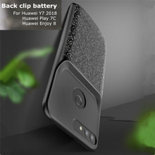 Portable Battery  Case Charger Backup Power Cover for Huawei Y7 2018 for Huawei Honor Play 7C Enjoy 8 Battery Case  Box