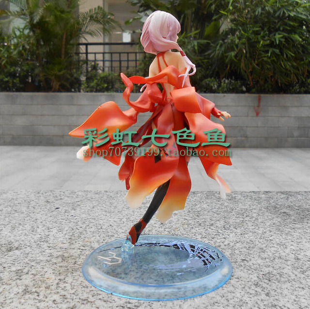 Sexy 23cm Guilty Crown Inori Yuzuriha Model 1/8 Scale Action Figures PVC brinquedos Collection Figures toys for christmas gift