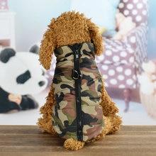 Camuflagem Roupas Para Cães de Pequeno Porte Do Cão Filhote de Cachorro do animal de Estimação Do Gato Do Cão Casaco de Inverno Quente À Prova D' Água Jaqueta Colete Roupas Roupas Chihuahua Pug