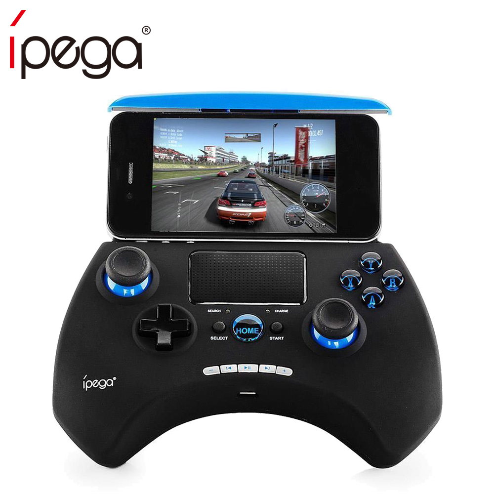 iPega PG-9028 PG 9028 Wireless Gamepad Bluetooth V3.0 Game Controller & Touchpad Build-in Holder for Android Smartphone vs 9083