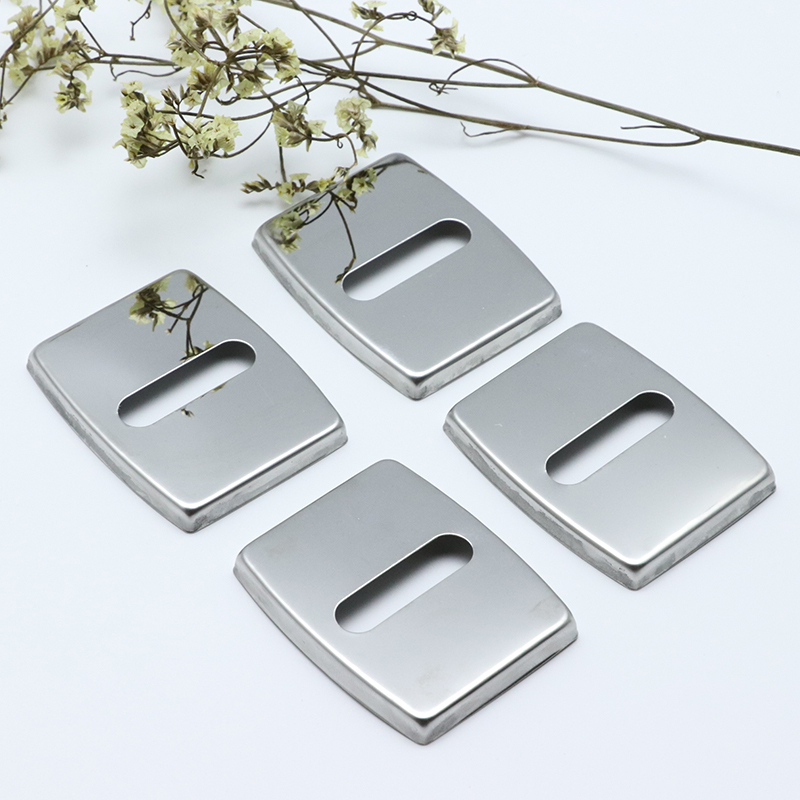 4pcs Anti Rust Car Door Lock Protective Buckle Cover For BMW 3 Series GT 3GT E46 E90 F30 Car Styling Car Styling Accessories