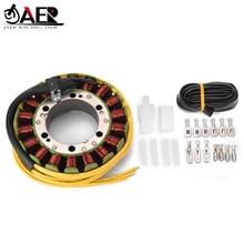 JAER de bobina de estator generador para Honda VT800 VT750C VT700C sombra VFR700 VFR750F VF700C Magna Interceptor VF750S Sabre