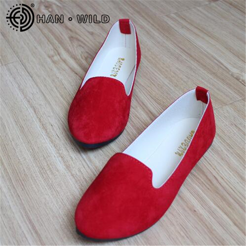 Women's Flats 2019 Women Shoes Candy Color Woman Loafers Spring Autumn Flat Shoes Women Zapatos Mujer Summer Shoes Size 35-43(China)